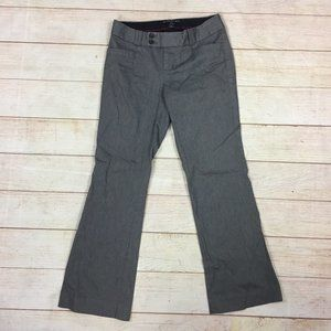 Banana Republic Gray Straight Fit Trousers